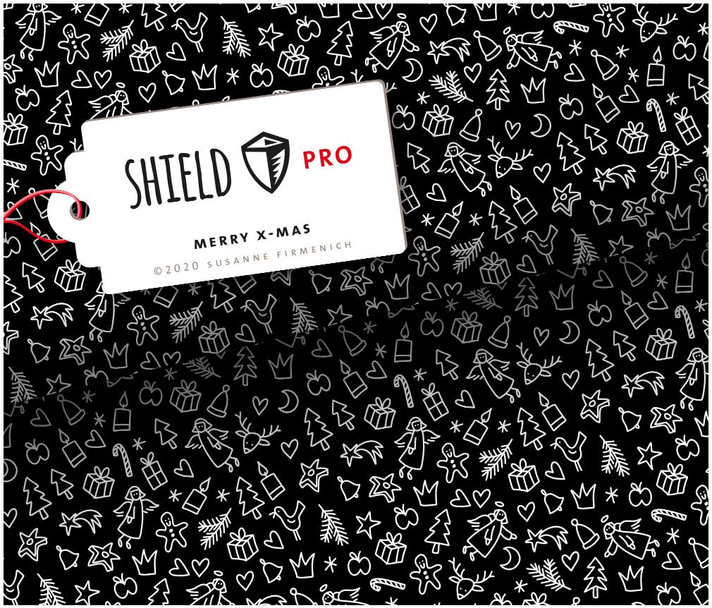 Jersey Shield Pro - Merry X-Mas | Hamburger Liebe & Albstoffe