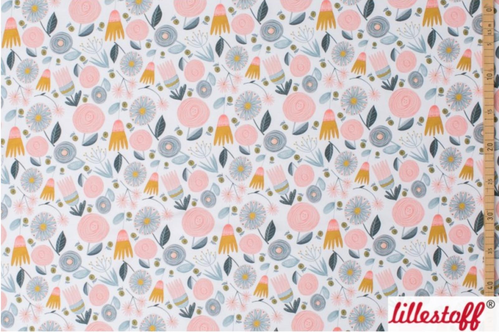Sommersweat - Kitty Garden Flowers von Lillestoff