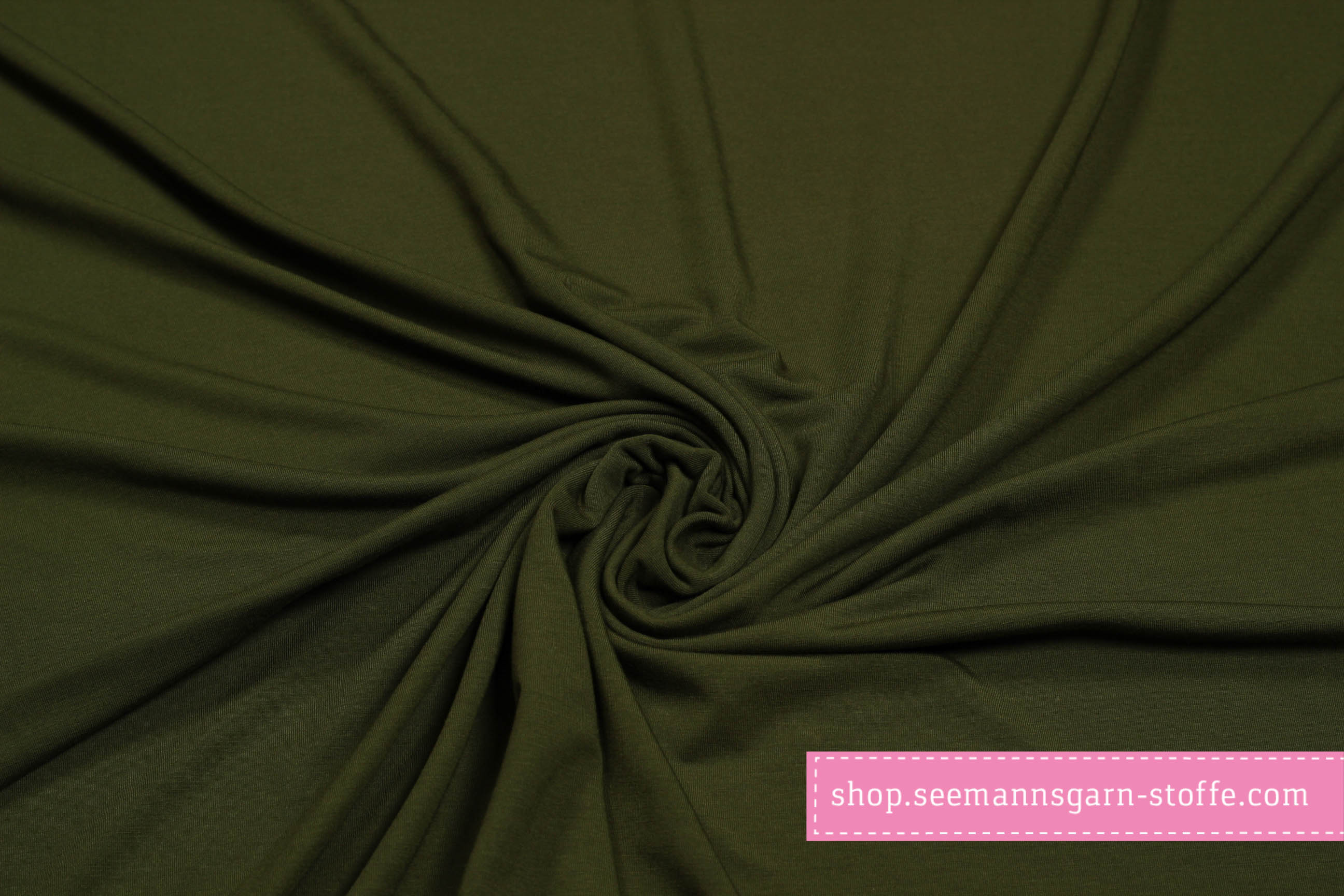 Viskose Stretch Jersey - grün