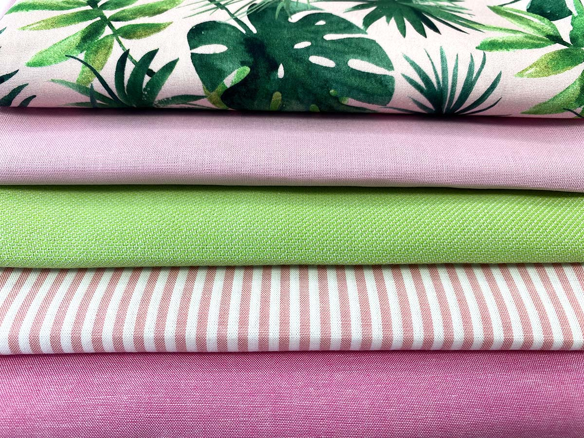 Patchwork- und Quiltpaket - Pink Jungle