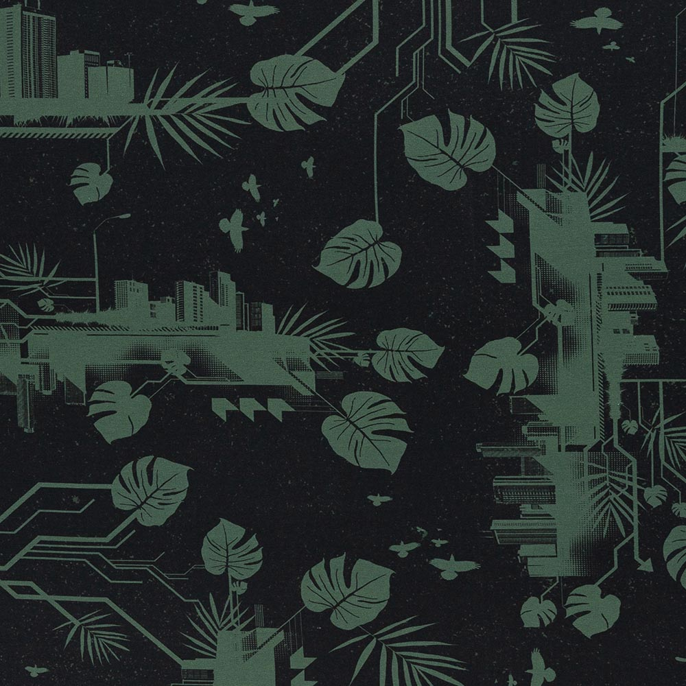 Jersey Urban Jungle by Thorsten Berger - Swafing - schwarz khaki