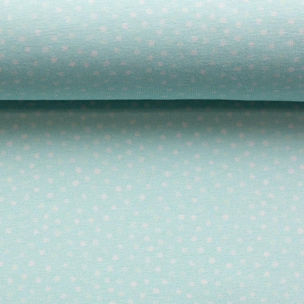 Jersey Little Spring mit Punkten von Swafing in blau