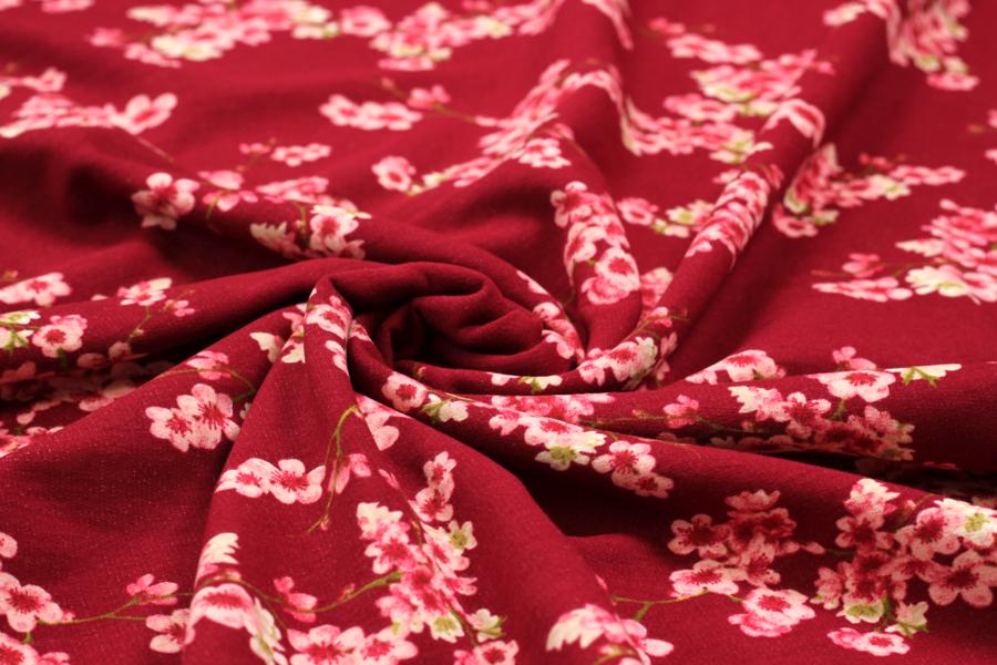 Softer Bio-Sweat Cherry Blossom in rauchblau | Desigend by Poppy