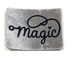 Label aus Kunstleder - Magic
