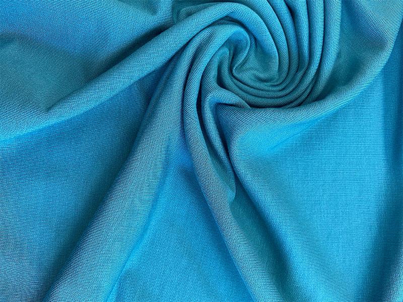 French Terry Modal Sweat in blau von Hilco