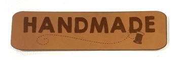 Label aus Kunstleder - Handmade