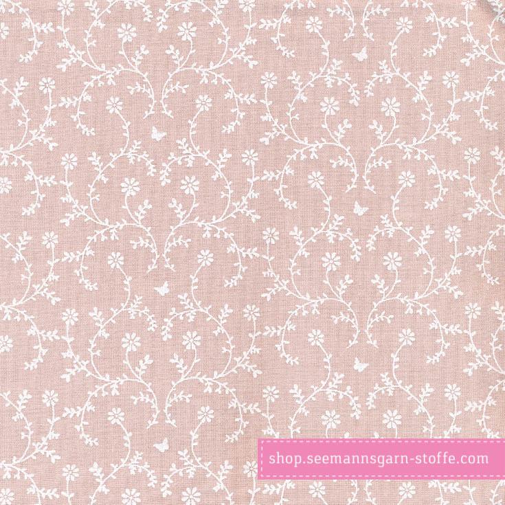 Wachstuch - Oilcloth Claire Powder Rose