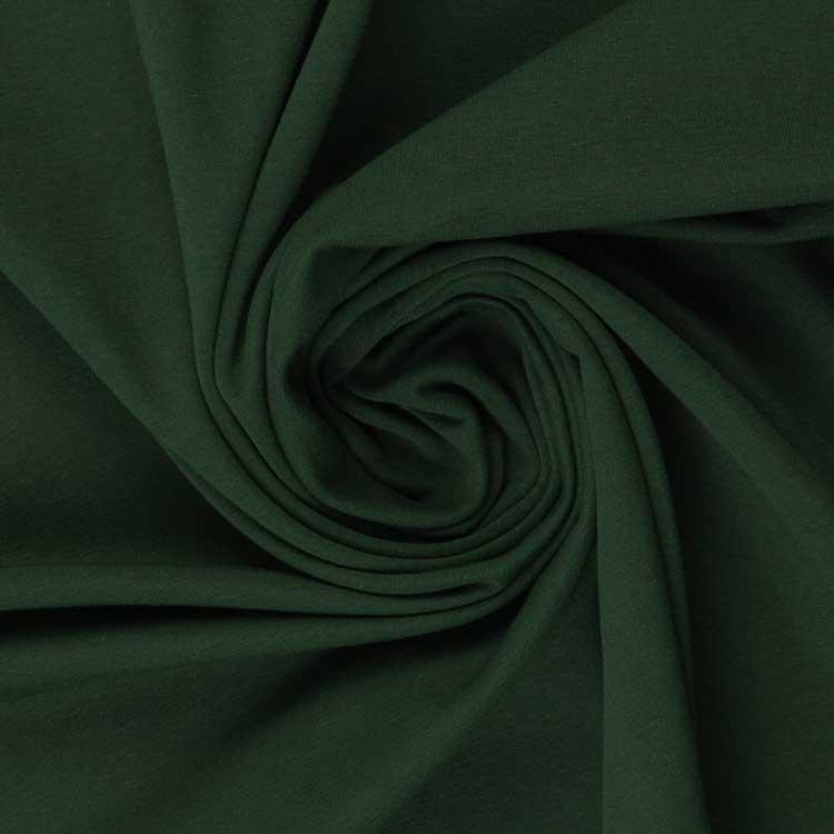 Weicher Jersey in dunkelgrün von Swafing!