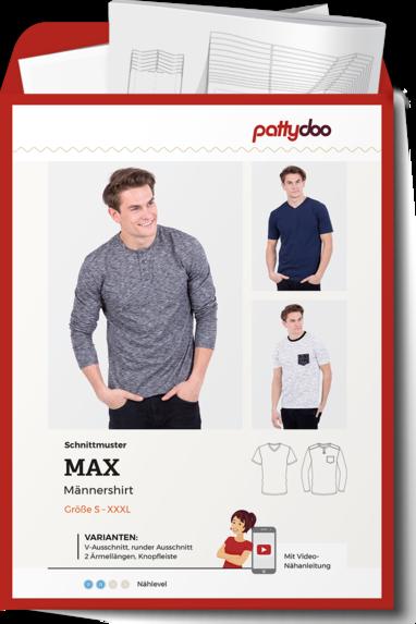 PattyDoo Max Männershirt Papierschnittmuster