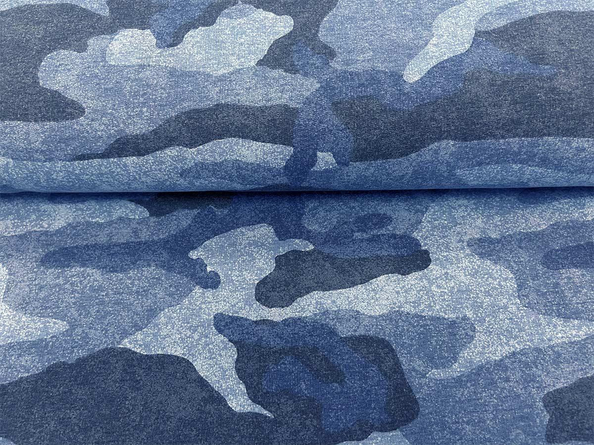 Sweat - Camouflage in blau