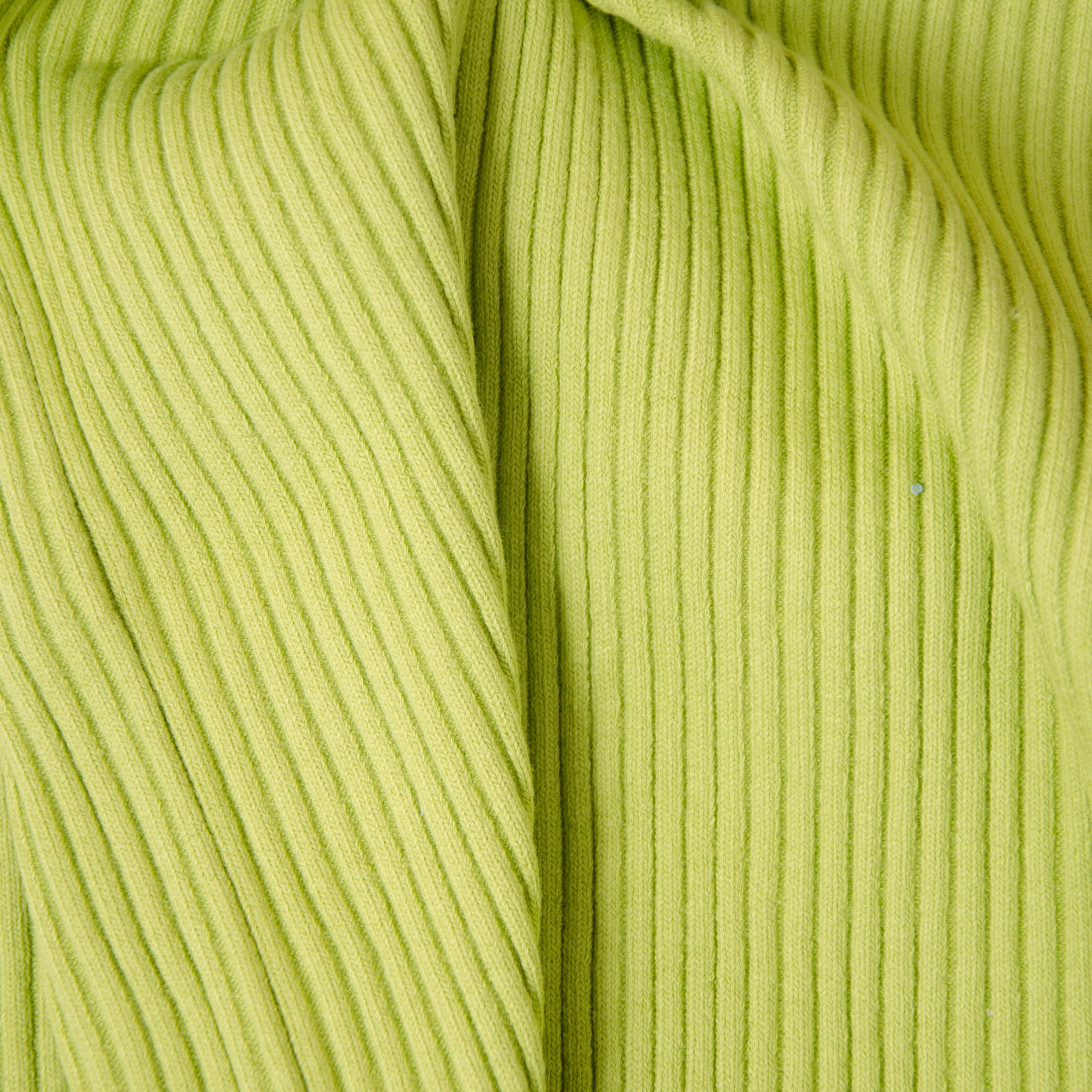 Rippenbündchen - Heavy Rib hellgrün