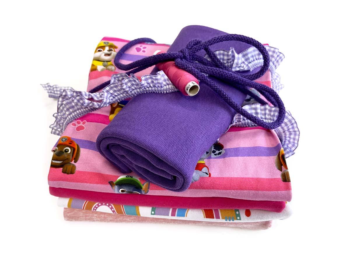Stoffpaket Mini - Pink Patrol