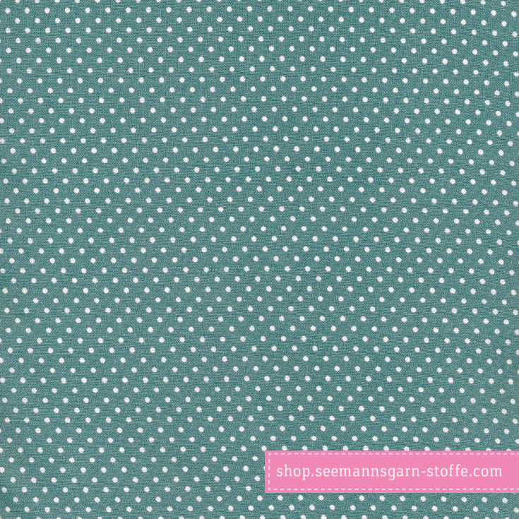Wachstuch - Oilcloth Dots Antique Green von Au Maison