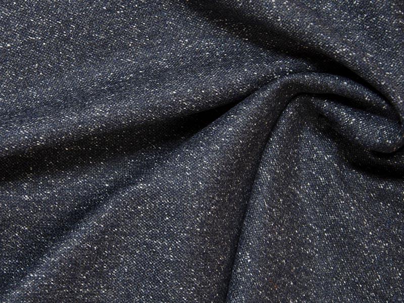 Tweed - Cardiff dunkelgrau von Hilco