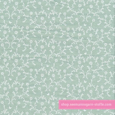 Wachstuch - Oilcloth Claire Mint