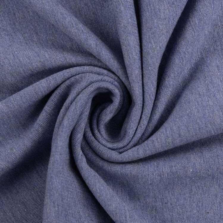 Melierter Jersey in blau von Swafing!