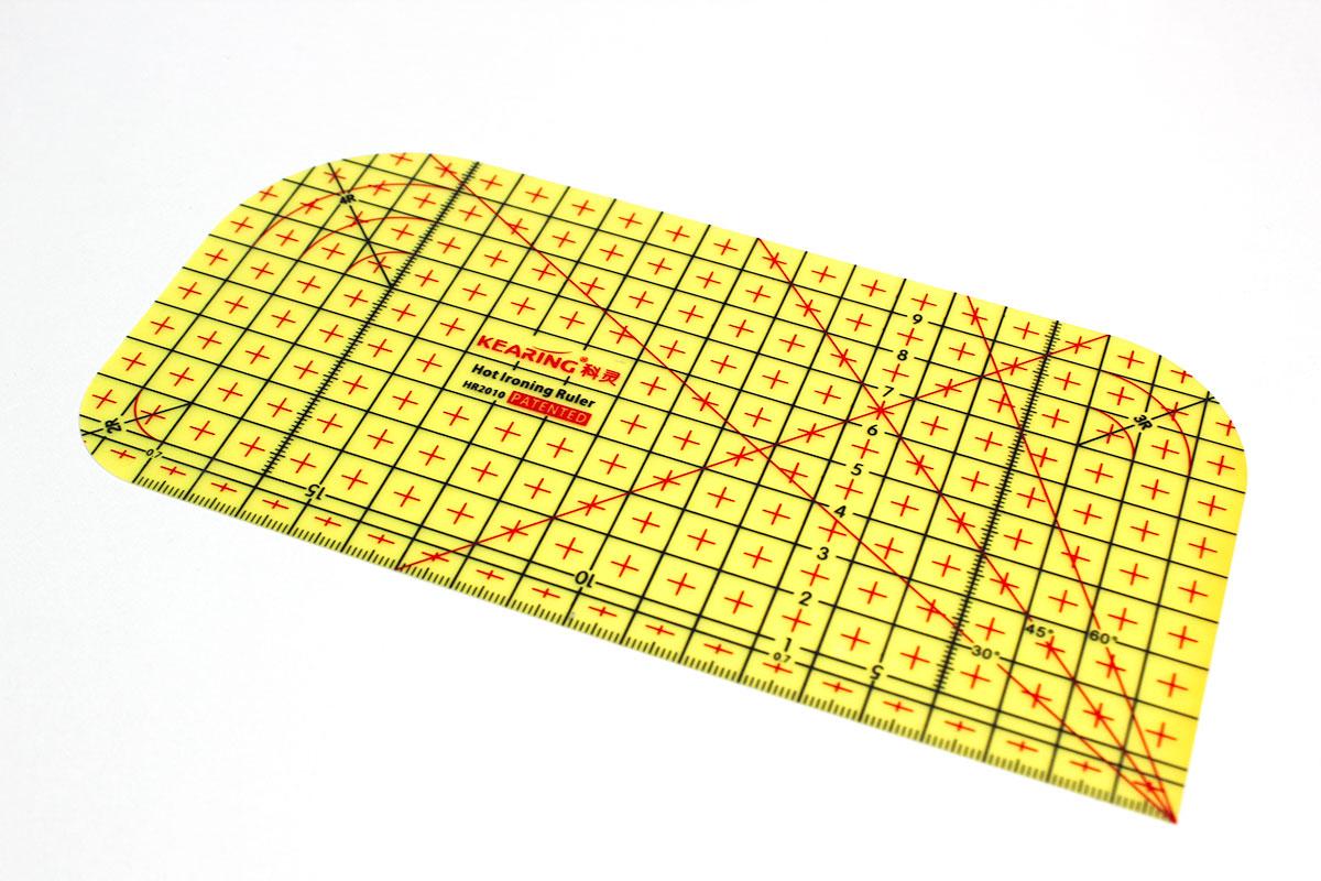 Bügel-Lineal 20x10 cm