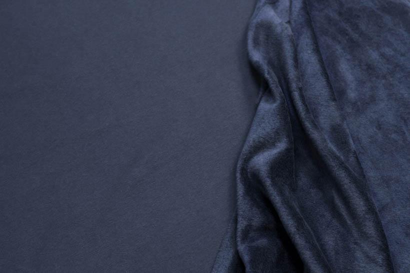 Alpenfleece - Julian in dunkelblau von Swafing