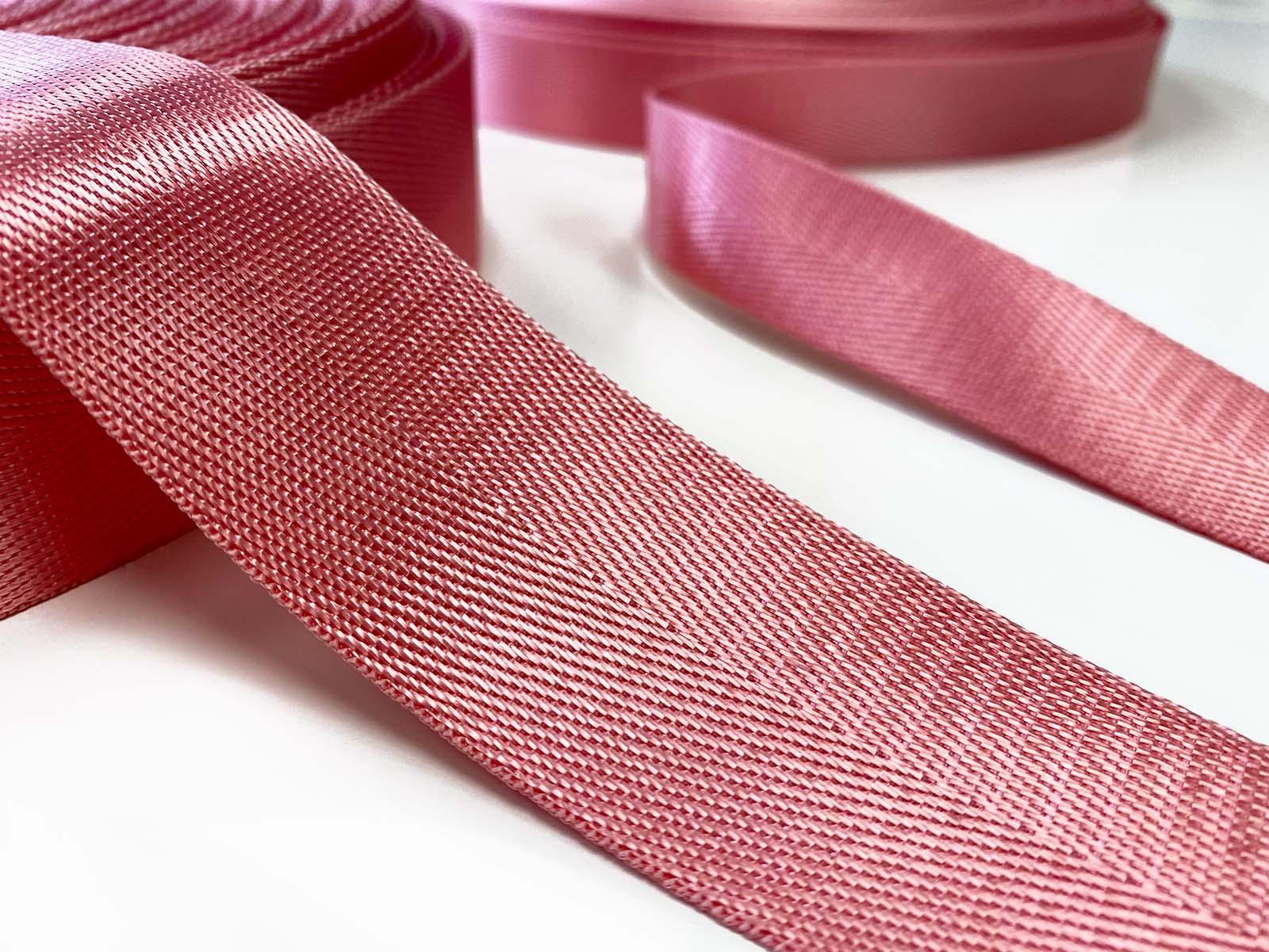 Nylon Gurtband rosa