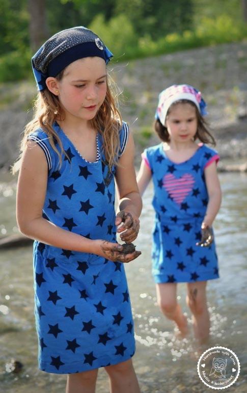 Strandkleid Schnittmuster für Mädchen von kibadoo