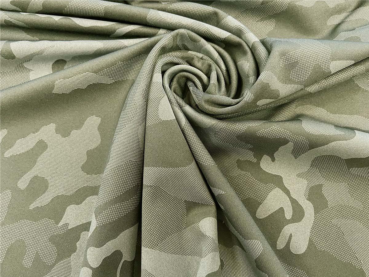 Funktionsjersey - Camouflage in khaki