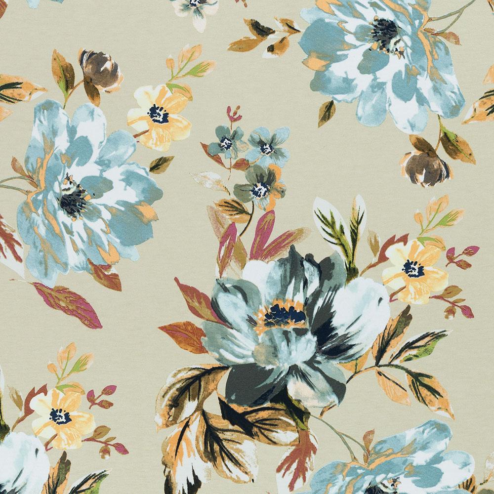 Viskose Jersey Selina mit Blumen von Swafing