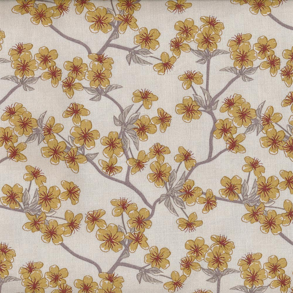 Wachstuch - Oilcloth Amelie Creme von Au Maison