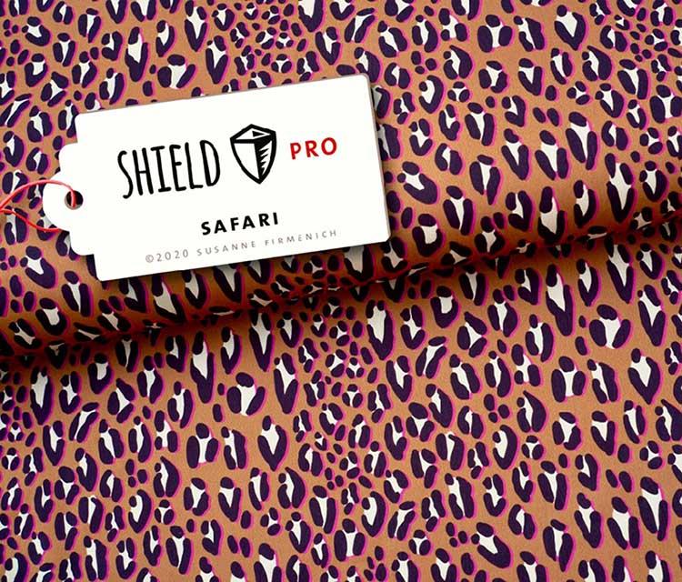 Shield Pro - Safari orange von Hamburger Liebe & Albstoffe