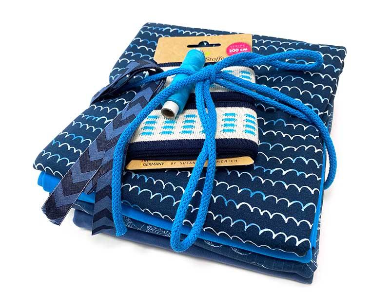Stoffpaket The Blues von SEEMANNSgarn