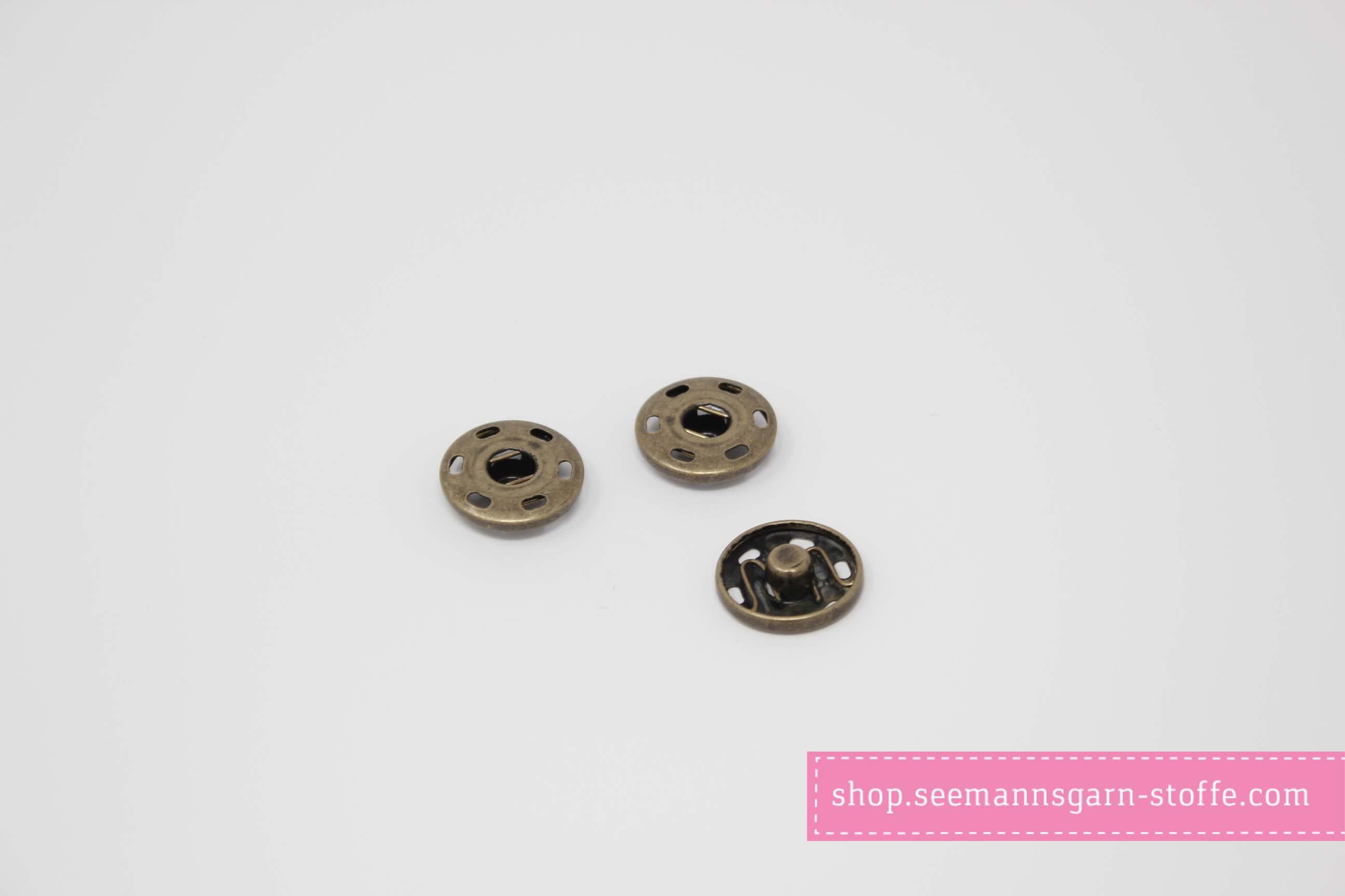 Pompom - weinrot 12 mm mit Druckknopf
