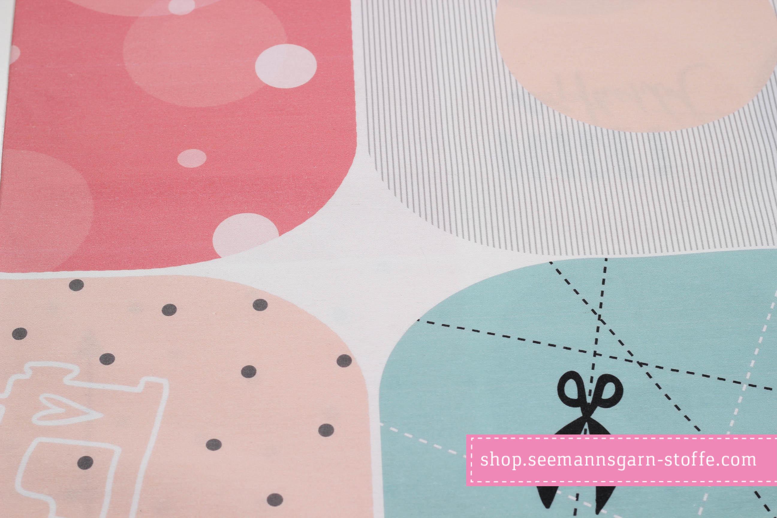 Webware Dekostoff - Taschenpanel Cut & Sew - DIY - Panel - Taschen - Leni Pepunkt - Nähset - Canvas - Nähen -