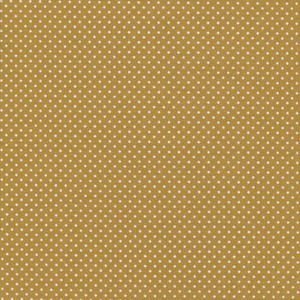 Wachstuch - Dots Mustard | Au Maison