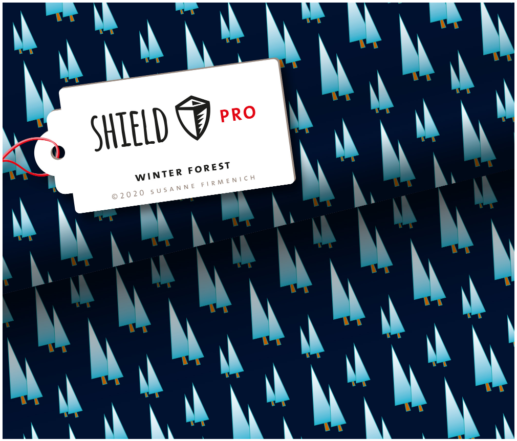 Jersey Shield Pro - Winter Forest | Hamburger Liebe & Albstoffe